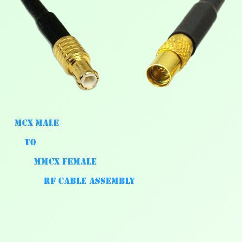 MCX Male to MMCX Female RF Cable Assembly