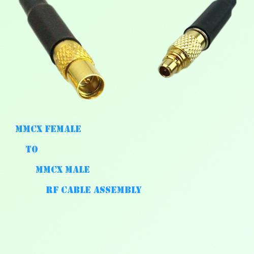 MMCX Female to MMCX Male RF Cable Assembly