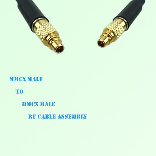 MMCX Male to MMCX Male RF Cable Assembly