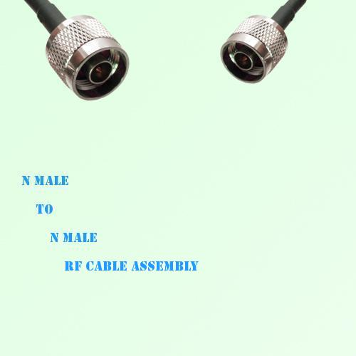 N Male to N Male RF Cable Assembly