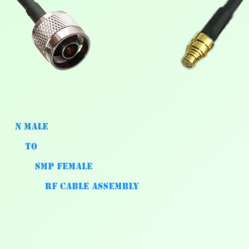 N Male to SMP Female RF Cable Assembly