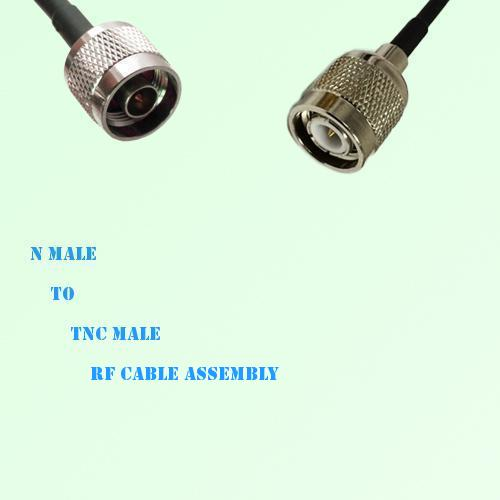 N Male to TNC Male RF Cable Assembly
