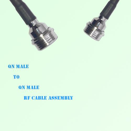 QN Male to QN Male RF Cable Assembly