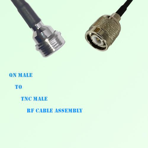 QN Male to TNC Male RF Cable Assembly
