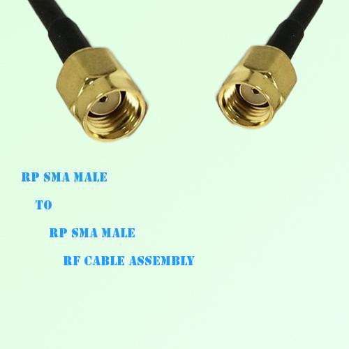RP SMA Male to RP SMA Male RF Cable Assembly