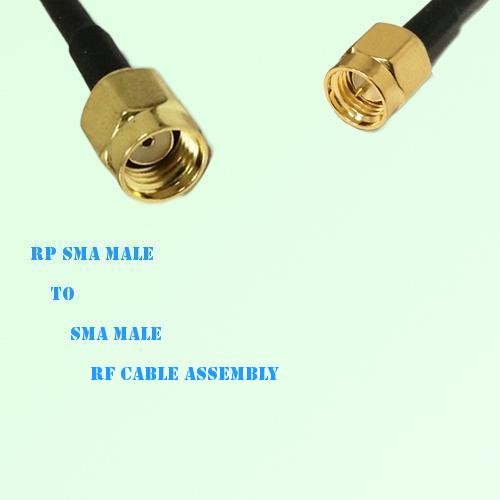 RP SMA Male to SMA Male RF Cable Assembly