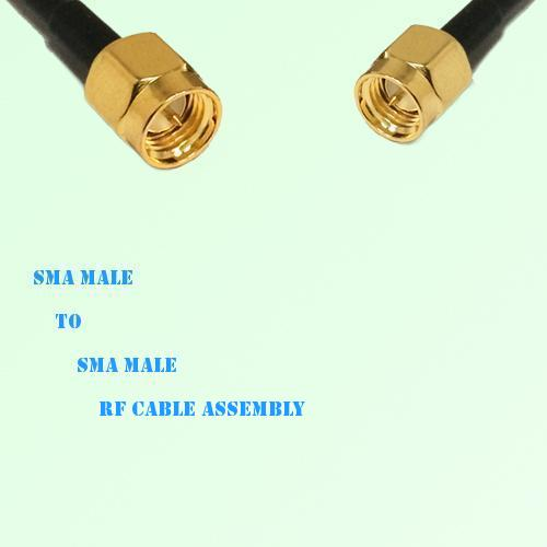 SMA Male to SMA Male RF Cable Assembly