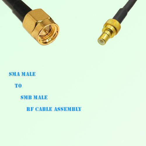 SMA Male to SMB Male RF Cable Assembly
