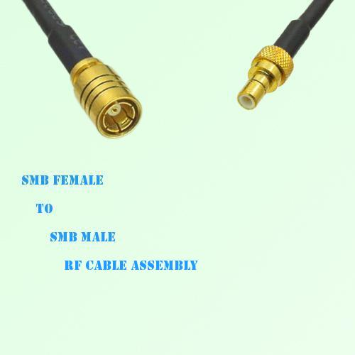 SMB Female to SMB Male RF Cable Assembly