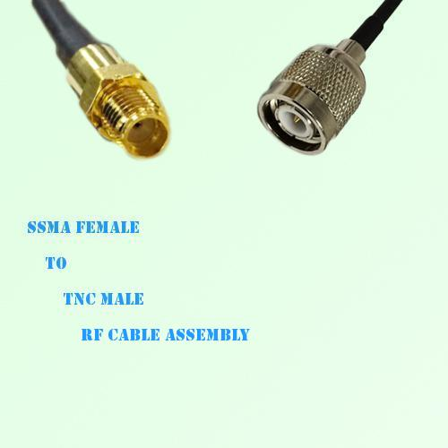 SSMA Female to TNC Male RF Cable Assembly