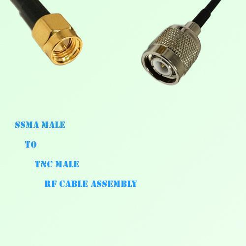 SSMA Male to TNC Male RF Cable Assembly