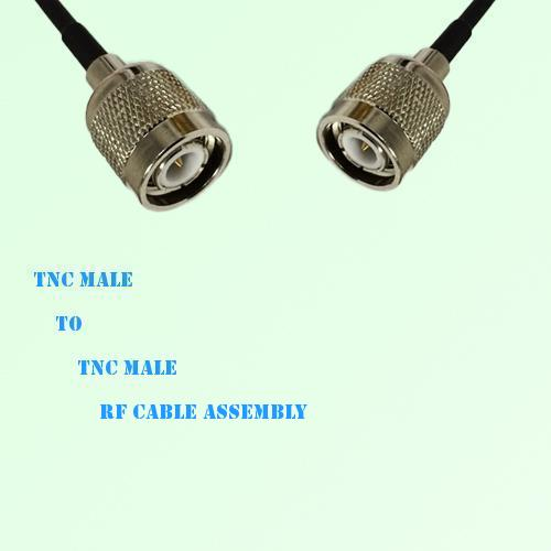 TNC Male to TNC Male RF Cable Assembly