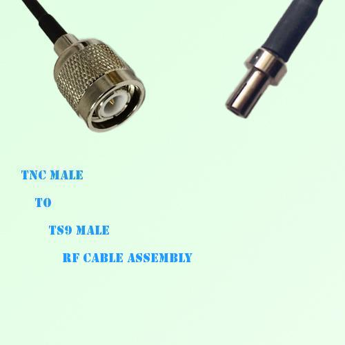 TNC Male to TS9 Male RF Cable Assembly