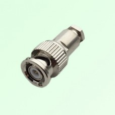 Mini BNC Male Clamp Connector for LMR100,RG174,RG316,RG316D Cable