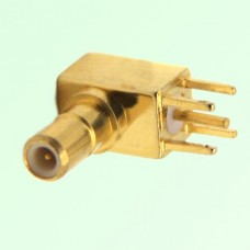 SSMB Male Right Angle PCB Mount Connector