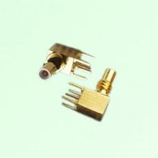 SSMC Male Right Angle PCB Mount Connector