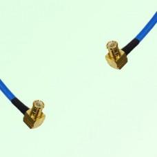Semi-Flexible Jumper MCX Male Right Angle to MCX Male Right Angle