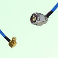 Semi-Flexible Jumper MCX Male Right Angle to N Male Right Angle