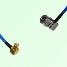 Semi-Flexible Jumper MCX Male Right Angle to QMA Male Right Angle