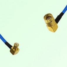 Semi-Flexible Jumper MCX Male Right Angle to RP SMA Male Right Angle
