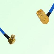 Semi-Flexible Jumper MCX Male Right Angle to SMA Male Right Angle