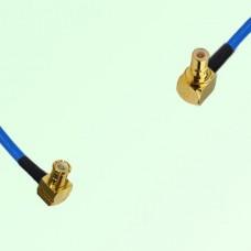 Semi-Flexible Jumper MCX Male Right Angle to SMB Male Right Angle