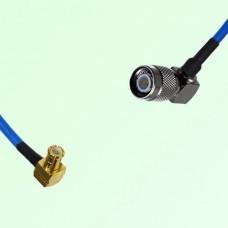 Semi-Flexible Jumper MCX Male Right Angle to TNC Male Right Angle