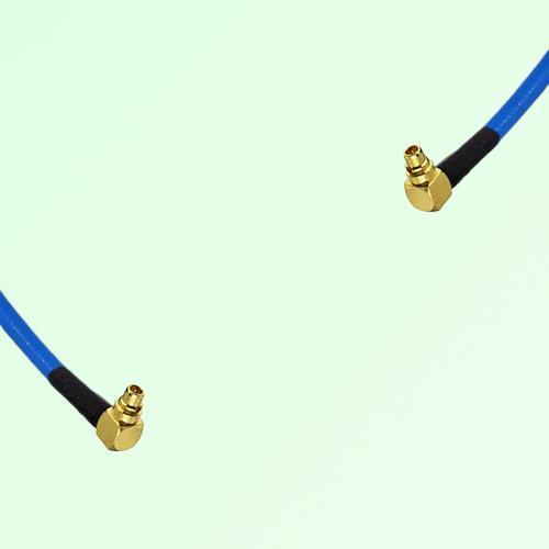 Semi-Flexible Jumper MMCX Male Right Angle to MMCX Male Right Angle
