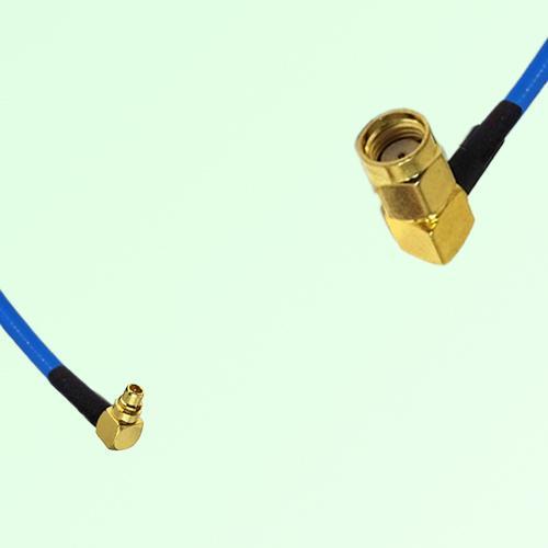 Semi-Flexible Jumper MMCX Male Right Angle to RP SMA Male Right Angle