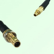 75ohm 1.0/2.3 DIN Female to MMCX Male Coax Cable Assembly
