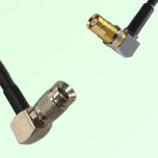 75ohm 1.0/2.3 DIN Male R/A to 1.6/5.6 DIN Female R/A Cable Assembly