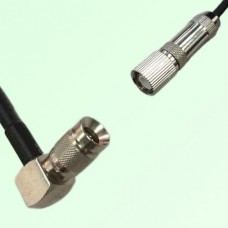 75ohm 1.0/2.3 DIN Male R/A to 1.6/5.6 DIN Male Coax Cable Assembly
