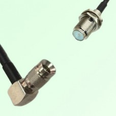 75ohm 1.0/2.3 DIN Male R/A to F Bulkhead Female Coax Cable Assembly