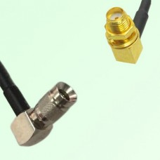75ohm 1.0/2.3 DIN Male R/A to SMA Bulkhead Female R/A Cable Assembly