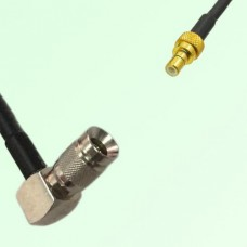 75ohm 1.0/2.3 DIN Male Right Angle to SMB Male Coax Cable Assembly