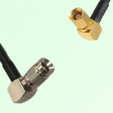 75ohm 1.0/2.3 DIN Male R/A to SMC Female R/A Coax Cable Assembly