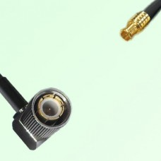 75ohm 1.6/5.6 DIN Male Right Angle to MCX Male Coax Cable Assembly