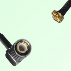 75ohm 1.6/5.6 DIN Male R/A to MCX Male R/A Coax Cable Assembly