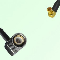 75ohm 1.6/5.6 DIN Male R/A to MMCX Female R/A Coax Cable Assembly