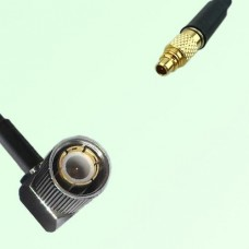 75ohm 1.6/5.6 DIN Male Right Angle to MMCX Male Coax Cable Assembly
