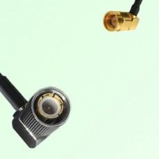 75ohm 1.6/5.6 DIN Male R/A to SMA Male R/A Coax Cable Assembly