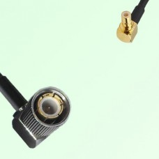 75ohm 1.6/5.6 DIN Male R/A to SMB Male R/A Coax Cable Assembly