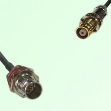75ohm BNC Bulkhead Female to 1.6/5.6 DIN Female Coax Cable Assembly