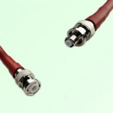 MHV 3KV Male to SHV 5KV Male RF Cable Assembly