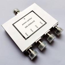 4 Way N Female Jack RF Power Splitter/Divider 380-2500MHz