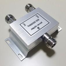 2 Way N Female Jack RF Power Splitter/Divider 800-2500MHz