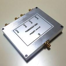 4 Way SMA Female Jack RF Power Splitter/Divider 380-2500MHz