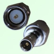 RF Adapter 1.0/2.3 DIN Female Jack to SMA Male Plug