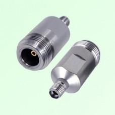18G 3.5mm Female Jack to N Female Jack RF Adapter