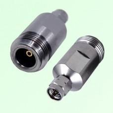 18G 3.5mm Male Plug to N Female Jack RF Adapter